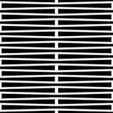 Monochrome геометрическая картина с линиями Плавно repeatable Стоковое Изображение RF