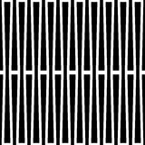 Monochrome геометрическая картина с линиями Плавно repeatable Стоковое Фото