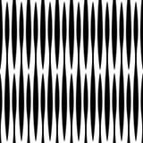 Monochrome геометрическая картина с линиями Плавно repeatable Стоковые Изображения RF