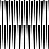 Monochrome геометрическая картина с линиями Плавно repeatable Стоковая Фотография RF