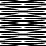 Monochrome геометрическая картина с линиями Плавно repeatable Стоковое Изображение