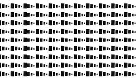 Monochrome малая картина блоков иллюстрация штока