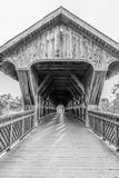 Monochrome мост Стоковое Фото