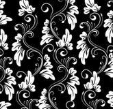 monochrome орнамент Стоковые Фотографии RF
