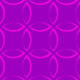 Monochrome повторяющийся картина с формами лепестка/цветка/лист Стоковые Фото
