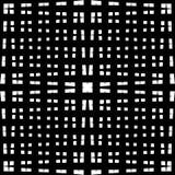 Monochrome решетка/сетка с линиями сложной формы Repeatable geometri Стоковая Фотография RF