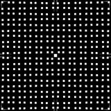 Monochrome решетка/сетка с линиями сложной формы Repeatable geometri Стоковое фото RF