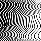 Monochrome случайные хаотические нервные линии резюмируют художническую картину иллюстрация вектора