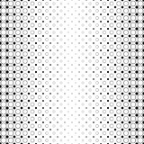 Monochrome abstract circle pattern background - black and white geometric design from dots and circles. Monochrome abstract circle pattern background - black and Stock Photography