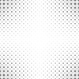 Monochrome abstract circle pattern background - black and white geometric halftone vector from dots and circles. Monochrome abstract circle pattern background Royalty Free Stock Photography