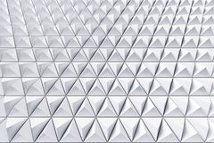 Abstract background of polygonal triangles. Monochrome abstract 3D minimalistic geometrical background of triangles Royalty Free Stock Image