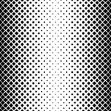 Monochrome abstract square pattern background - black and white geometrical vector design from diagonal rounded squares Royalty Free Stock Photo