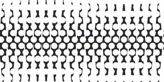 Monochrome abstract triangle and dotted pattern halftone background vector Royalty Free Stock Photos