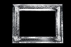 Monochrome aged grunge frame Stock Photos