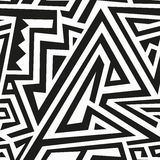 Monochrome ancient seamless pattern Stock Photography