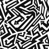 Monochrome ancient seamless pattern Royalty Free Stock Photos
