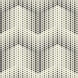 Monochrome Arrow Background. Seamless Halftone Pattern. Vector Graphic Design Vector Illustration