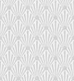 Monochrome art deco sunburst pattern Royalty Free Stock Photo