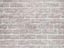 Monochrome background with brick wall Stock Illustration