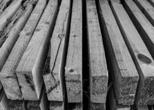 Monochrome background horizontal stack perspective board monochrome gray base design sawmill close-up stock photo