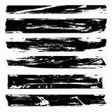 Monochrome banners Graffiti collection Stock Photography