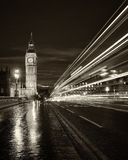 Monochrome Big Ben London Royalty Free Stock Image