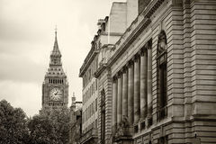 Monochrome Big Ben London Royalty Free Stock Photo
