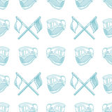Monochrome blue pattern for paintball Royalty Free Stock Photography