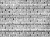 Monochrome brick wall background. Stock Photography