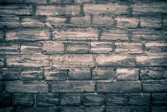 Monochrome brick wall Royalty Free Stock Photos