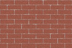 Monochrome brown brick wall abstract background. Texture of bricks.Template design for web banners.  Stock Image