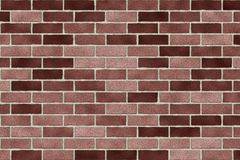 Monochrome brown brick wall abstract background. Texture of bricks.Template design for web banners.  Stock Photo