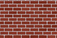 Monochrome brown brick wall abstract background. Texture of bricks.Template design for web banners.  Royalty Free Stock Photography