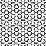 Monochrome chain link seamless pattern Royalty Free Stock Image