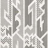 Monochrome cloth pattern with grunge effect Stock Photography