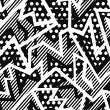 Monochrome cloth seamless pattern Stock Photos