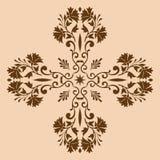 Monochrome croisé décoratif Images stock
