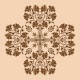 Monochrome croisé décoratif Photos stock