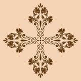 Monochrome croisé décoratif Photographie stock libre de droits