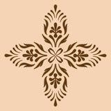 Monochrome croisé décoratif Image stock