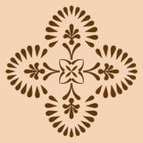 Monochrome croisé décoratif Photos libres de droits