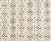 Monochrome Cross Pattern Wallpaper Swatch Royalty Free Stock Images