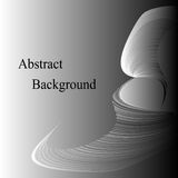 Monochrome Curves. Grey Abstract  Background. Template for  Labels,  Banners, Badges, Posters, Stickers Royalty Free Stock Photos