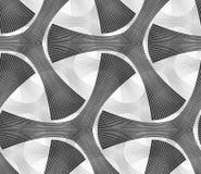 Monochrome dark striped tetrapods Royalty Free Stock Photos