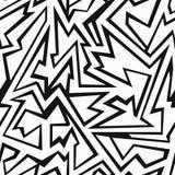 Monochrome debris seamless pattern Stock Image
