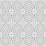 Monochrome diamond seamless pattern Royalty Free Stock Image