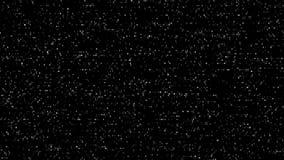 Monochrome Digital TV Noise. VJ Loop stock video footage