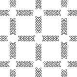 Monochrome elegant seamless pattern Royalty Free Stock Photo