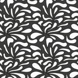 Monochrome elegant seamless pattern Royalty Free Stock Photos