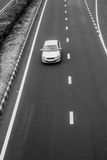Monochrome: expressway Royalty Free Stock Photography